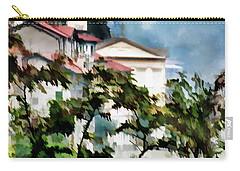 Parrocchia Di Colonno Carry-all Pouch by Jennie Breeze