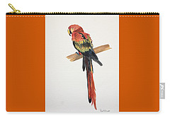 Parrot Carry-all Pouch by Christine Lathrop