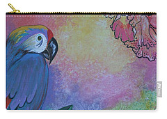 Parrot In Paradise Carry-all Pouch