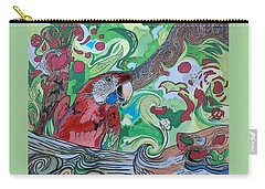 Parrot Kaleidoscope  Carry-all Pouch