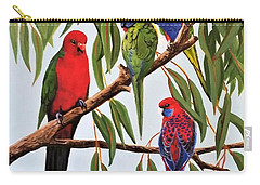 Parrot Medley Carry-all Pouch