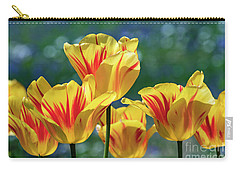 Parrot Tulips - D010361 Carry-all Pouch
