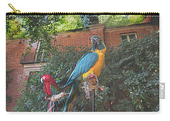 Parrots In The Garden Carry-all Pouch