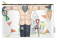 Parson Scarecrow Carry-all Pouch by Sandra Moore