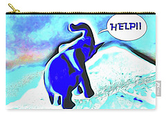 Party Orphan Carry-all Pouch by Aliceann Carlton