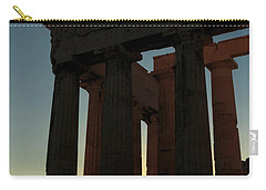 Parthenon At Sunset Carry-all Pouch
