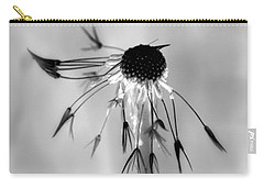 Carry-all Pouch featuring the photograph Partial Dandy by Richard Ricci