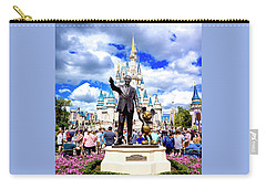 Carry-all Pouch featuring the photograph Partners Two by Greg Fortier