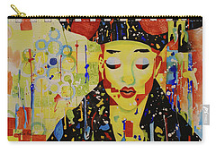 Party Girl Carry-all Pouch by Cynthia Powell