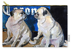 Carry-all Pouch featuring the painting Party Girls by Molly Poole