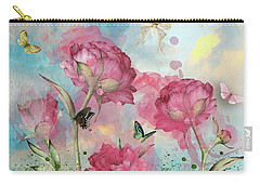 Party In The Posies Carry-all Pouch