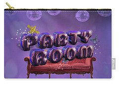 Party Room Carry-all Pouch by La Reve Design