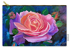 Gala Rose Carry-all Pouch by Jenny Lee