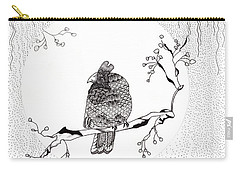 Party Time In Birdville Carry-all Pouch