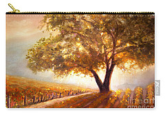 Paso Robles Golden Oak Carry-all Pouch