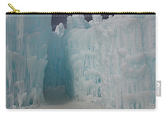 Passageway In The Ice Castle Carry-all Pouch