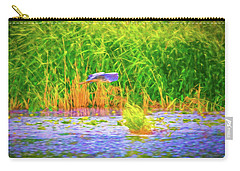 Carry-all Pouch featuring the photograph Passing Artistic. by Leif Sohlman