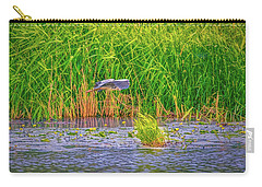 Carry-all Pouch featuring the photograph Passing.  by Leif Sohlman