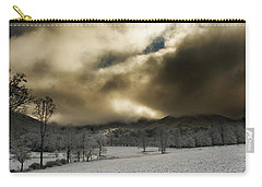 Passing Snow In North Carolina Carry-all Pouch by Greg Mimbs