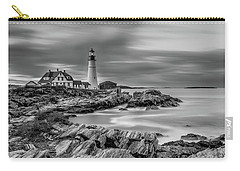 Passing Storm At Portland Head Light Carry-all Pouch