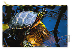 Passing The Day With A Friend Carry-all Pouch by Bob Orsillo