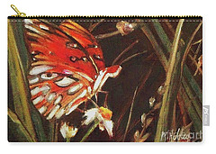Passion Butterfly - Gulf Fritillary Carry-all Pouch