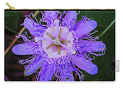 Passion Flower Bloom Carry-all Pouch