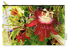 Passion In Red Carry-all Pouch by Alan Lakin