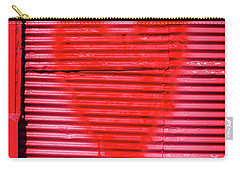 Passionate Red Heart For A Valentine Love Carry-all Pouch