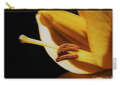 Passionate Yellow Lily Carry-all Pouch