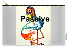 Passive Taino Bird Carry-all Pouch