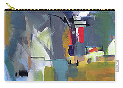 Carry-all Pouch featuring the painting Past The Doorway by John Jr Gholson