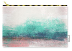 Pastel Coastal Escape-  Art By Linda Woods Carry-all Pouch