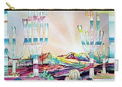 Pastel Desert Landscape Carry-all Pouch