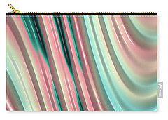 Carry-all Pouch featuring the photograph Pastel Fractal 2 by Bonnie Bruno