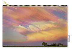 Carry-all Pouch featuring the photograph Pastel Painted Big Country Sky by James BO Insogna