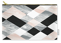 Pastel Scheme Geometry Carry-all Pouch