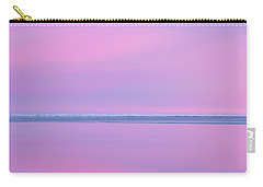 Pastel Shades Of An Icelandic  Winter Sunset. Carry-all Pouch