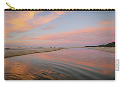 Pastel Skies And Beach Lagoon Reflections Carry-all Pouch