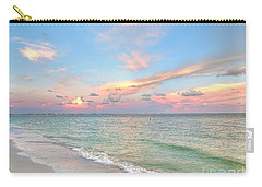 Pastel Sunset On Sanibel Island Carry-all Pouch