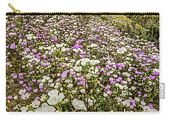 Pastel Super Bloom Carry-all Pouch by Peter Tellone