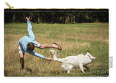 Pasture Ballet Human Interest Art By Kaylyn Franks   Carry-all Pouch