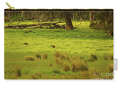 Pasture In Boranup Carry-all Pouch by Cassandra Buckley