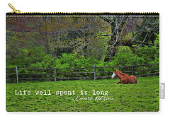 Pasture Napping Quote Carry-all Pouch