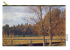 Carry-all Pouch featuring the photograph Pasture Pond by Laurie Stewart
