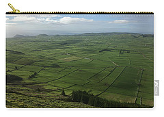 Pastures Inside The Rim On Terceira, Azores, Portugal Carry-all Pouch by Kelly Hazel
