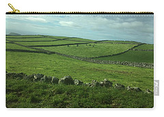 Pastures Of Terceira, The Azores, Portugal Carry-all Pouch by Kelly Hazel