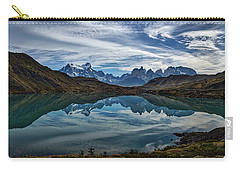 Patagonia Lake Reflection - Chile Carry-all Pouch