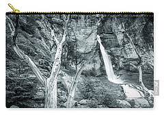 Patagonian Waterfall Carry-all Pouch by Andrew Matwijec