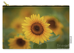 Patch Of Sunflowers Carry-all Pouch